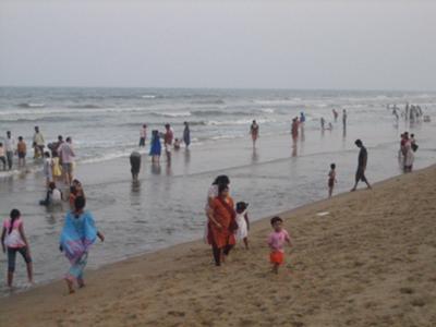 Marina beach (India)
